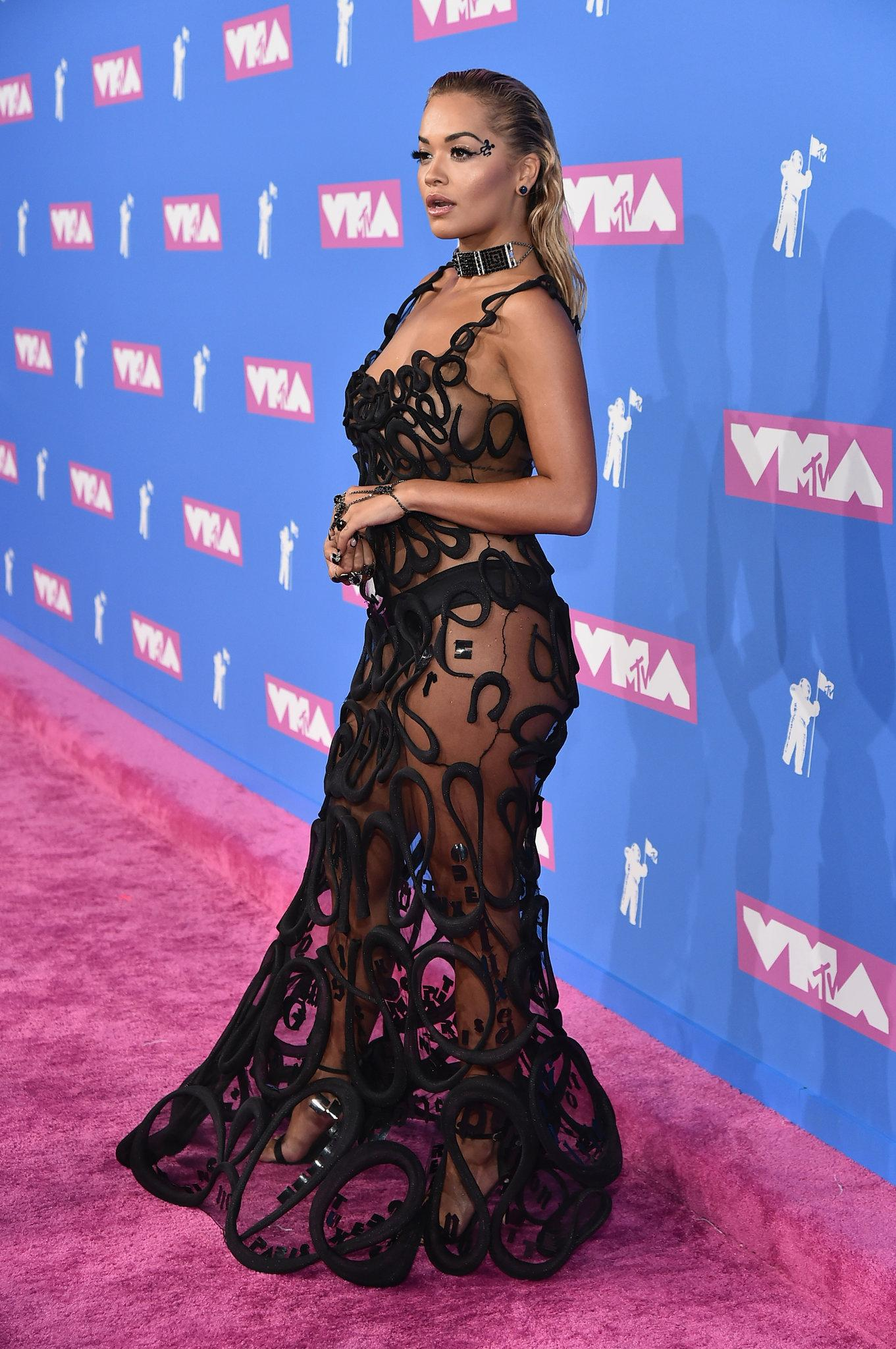 Mtv Video Music Awards 2018 Rita Ora Cardi B And Others Wowed On