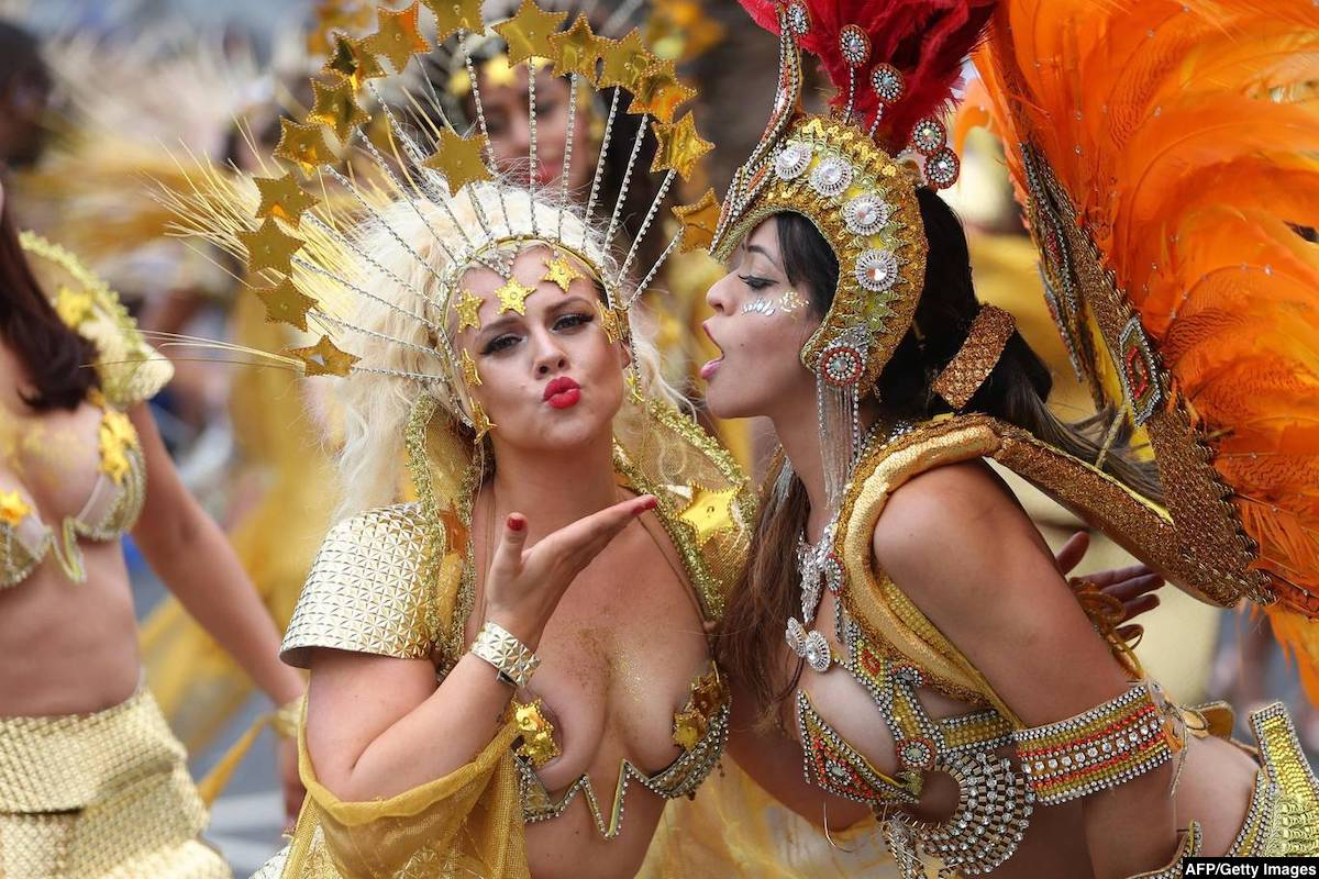 Francois Illas New Tradition: WORLDWIDE CARNIVAL DATES